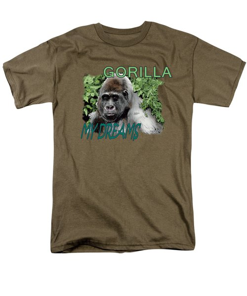 Gorilla My Dreams Men's T-Shirt  (Regular Fit) by Joseph Juvenal
