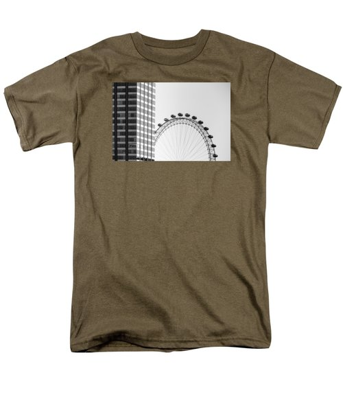 London Eye Men's T-Shirt  (Regular Fit) by Joana Kruse