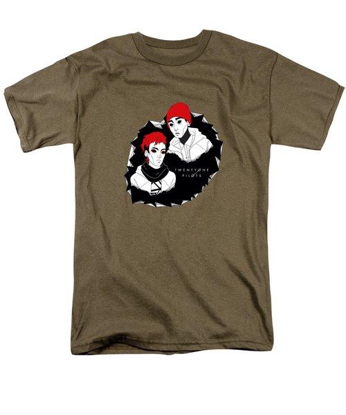 21pilots Art Men's T-Shirt  (Regular Fit) by Mentari Surya