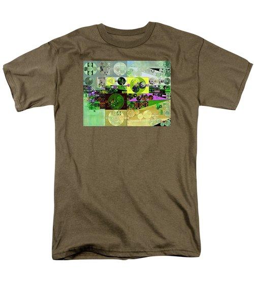 Abstract Painting - Black Bean Men's T-Shirt  (Regular Fit) by Vitaliy Gladkiy