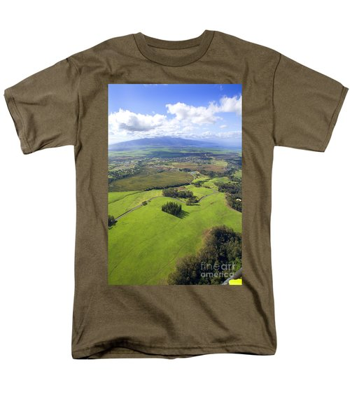 Maui Aerial T-Shirt by Ron Dahlquist - Printscapes