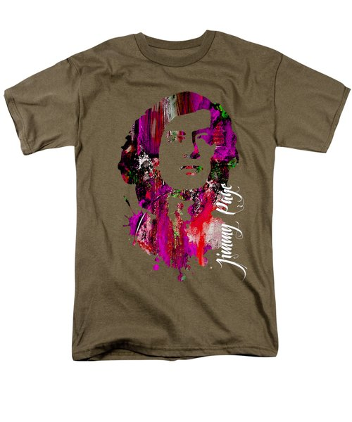 Jimmy Page Collection Men's T-Shirt  (Regular Fit) by Marvin Blaine