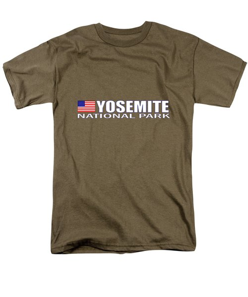 Yosemite National Park Men's T-Shirt  (Regular Fit) by Brian's T-shirts