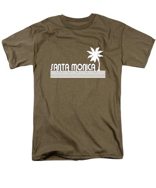 Santa Monica Men's T-Shirt  (Regular Fit) by Brian's T-shirts