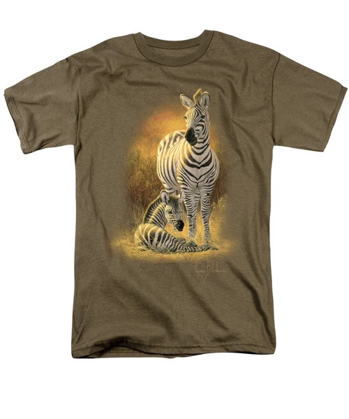 A New Day Men's T-Shirt  (Regular Fit) by Lucie Bilodeau