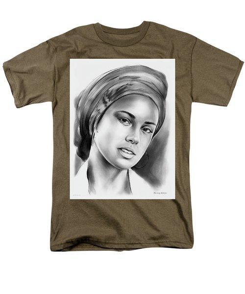 Alicia Keys 2 Men's T-Shirt  (Regular Fit) by Greg Joens