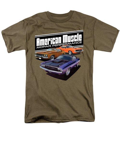 American Mopar Muscle Men's T-Shirt  (Regular Fit) by Paul Kuras