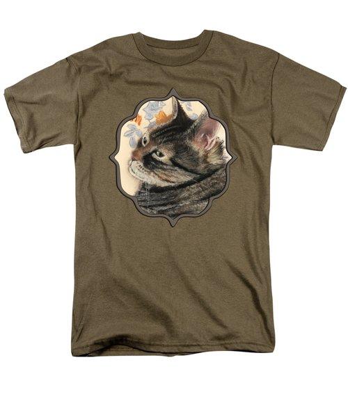 Cattitude Men's T-Shirt  (Regular Fit) by Anastasiya Malakhova