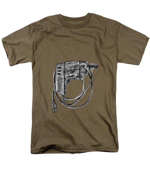Bd Drill Motor Bw Men's T-Shirt  (Regular Fit) by YoPedro