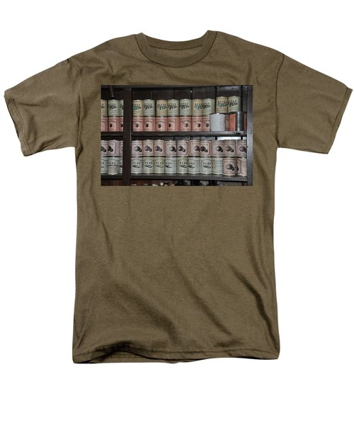 Beans Peaches Tomatoes and Peas T-Shirt by Bill Cannon