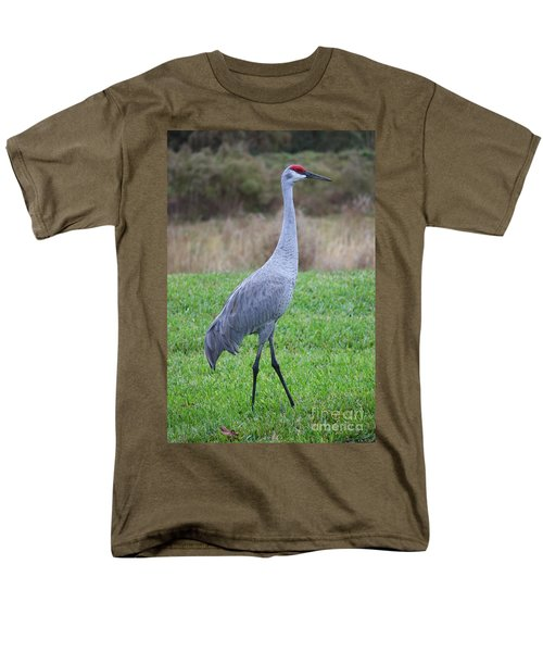 Beautiful Sandhill Crane T-Shirt by Carol Groenen