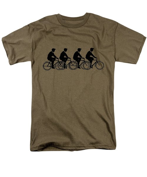 Bicycling T Shirt Design Men's T-Shirt  (Regular Fit) by Bellesouth Studio