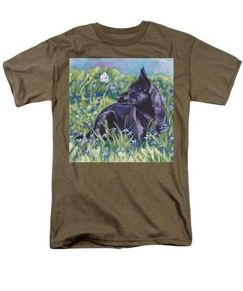 Black Australian Kelpie T-Shirt by Lee Ann Shepard