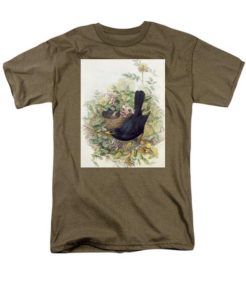 Blackbird,  Men's T-Shirt  (Regular Fit) by John Gould