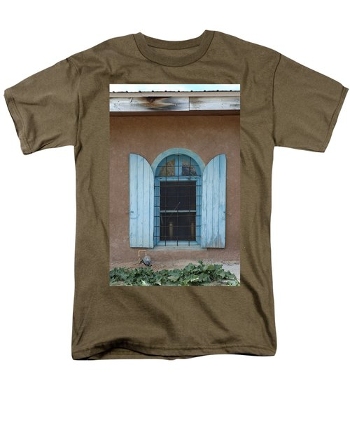 Blue Shutters T-Shirt by Jerry McElroy
