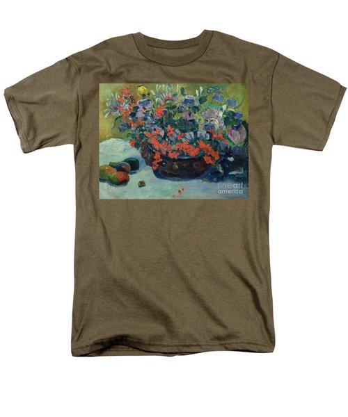 Bouquet Of Flowers Men's T-Shirt  (Regular Fit) by Paul Gauguin