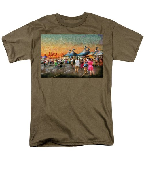 Carnival - Who wants Gyros T-Shirt by Mike Savad