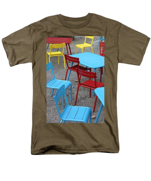 Chairs in Bryant Park T-Shirt by Lauri Novak