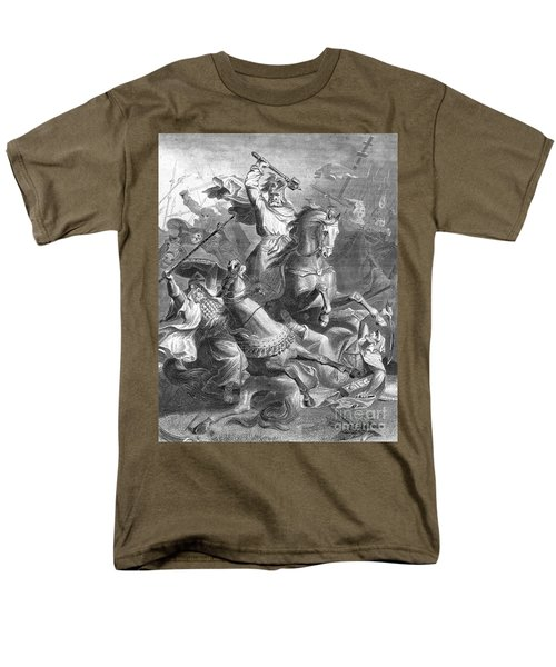 Charles Martel, Battle Of Tours, 732 T-Shirt by Photo Researchers