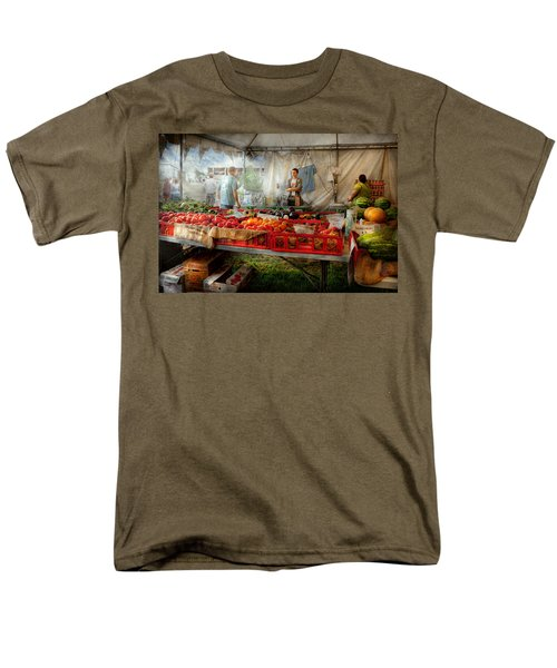 Chef - Vegetable - Jersey Fresh Farmers Market T-Shirt by Mike Savad