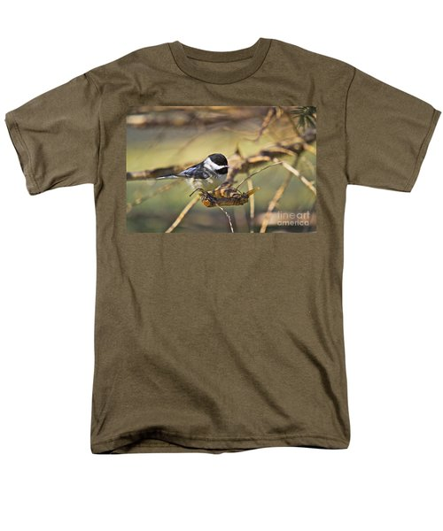 CHICKADEE-11 T-Shirt by Robert Pearson