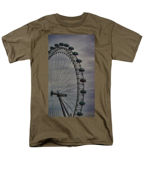 Coca Cola London Eye Men's T-Shirt  (Regular Fit) by Martin Newman