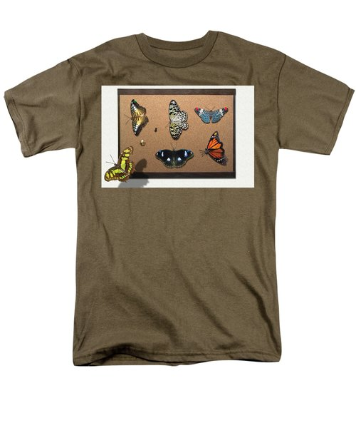 Collector - Lepidopterist - My Butterfly Collection T-Shirt by Mike Savad