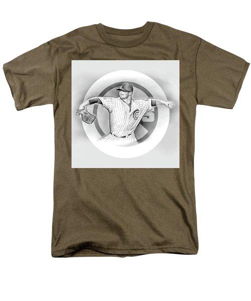 Cubs 2016 Men's T-Shirt  (Regular Fit) by Greg Joens