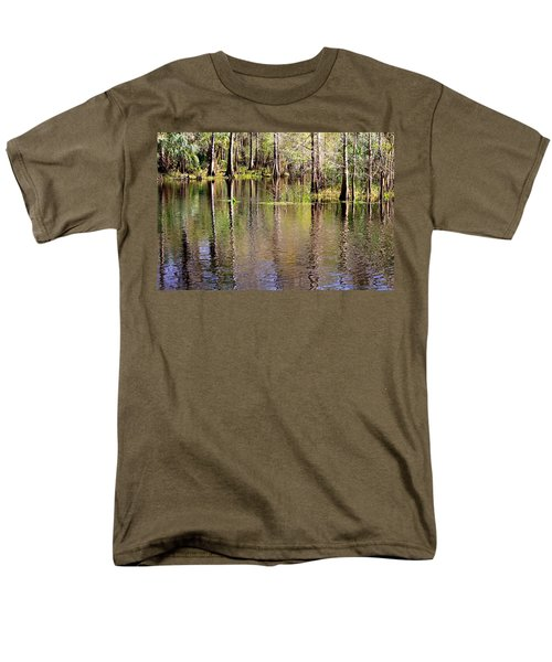 Cypress Trees along the Hillsborough River T-Shirt by Carol Groenen