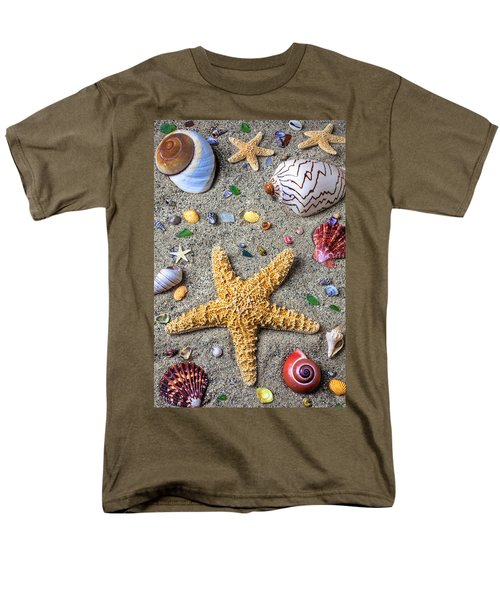 Day at the beach T-Shirt by Garry Gay