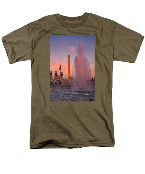 Dc Sunset Men's T-Shirt  (Regular Fit) by Betsy Knapp