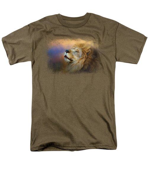 Do Lions Go To Heaven? Men's T-Shirt  (Regular Fit) by Jai Johnson