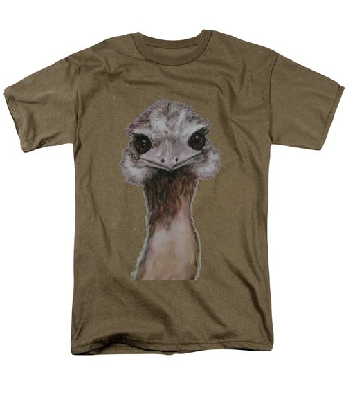 Emu Selfie Men's T-Shirt  (Regular Fit) by Kathy Carothers