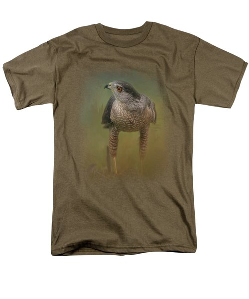 Evening Hawk Men's T-Shirt  (Regular Fit) by Jai Johnson