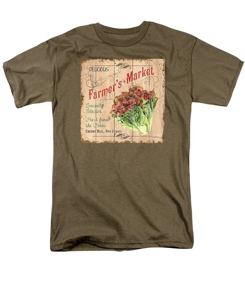 Farmer's Market Sign Men's T-Shirt  (Regular Fit) by Debbie DeWitt