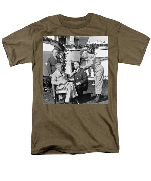 FDR Presenting Medal Of Honor To William Wilbur T-Shirt by War Is Hell Store