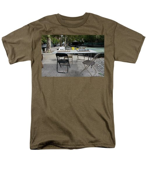 Game Of Chess Anyone T-Shirt by Terry Wallace