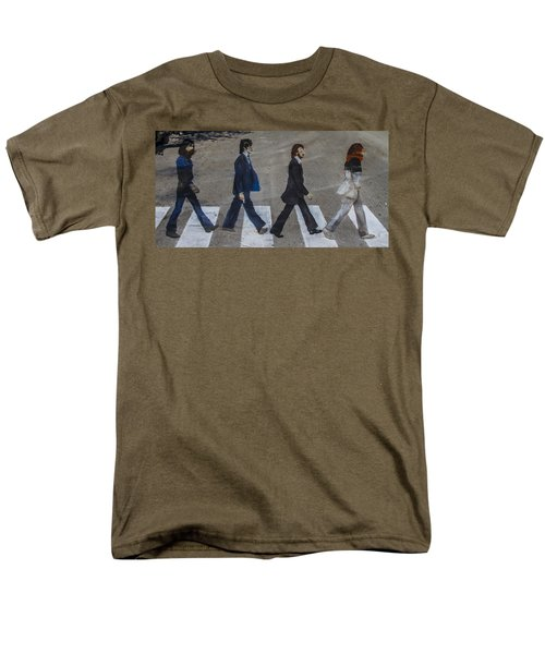 Ghosts of Abby Road T-Shirt by Debra and Dave Vanderlaan