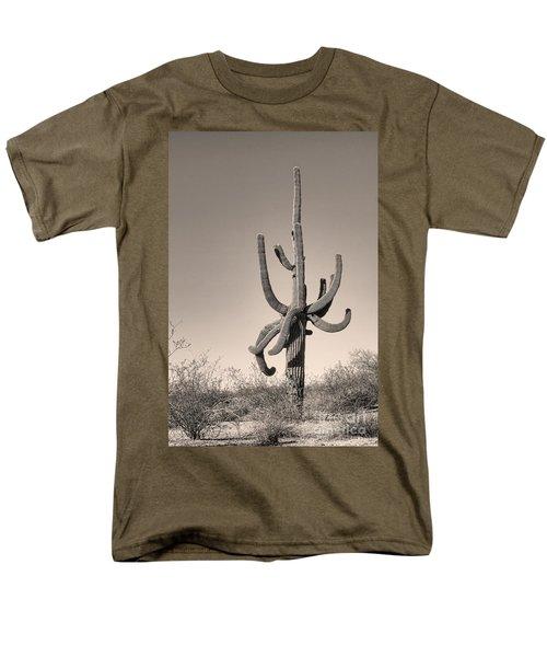 Giant Saguaro Cactus Sepia Image T-Shirt by James BO  Insogna