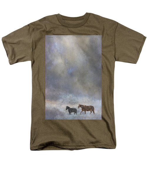 Going To Barn T-Shirt by Ron Jones