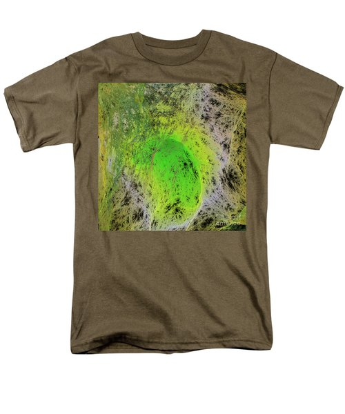 Green On Center Stage T-Shirt by Deborah Benoit