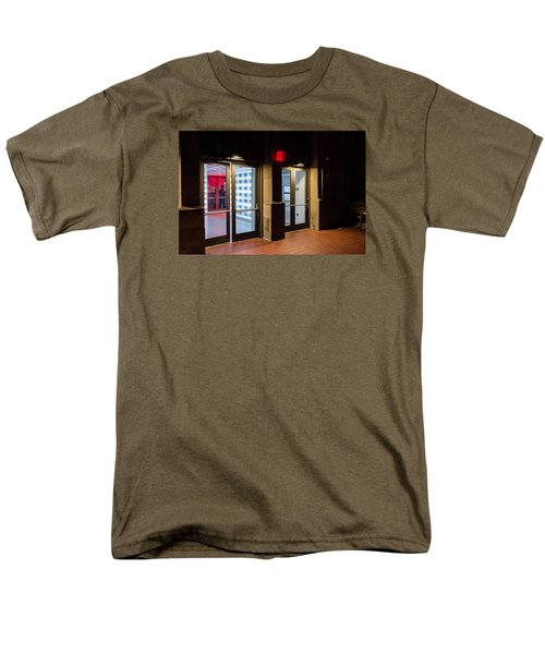 Men's T-Shirt  (Regular Fit) featuring the photograph Guarding The Door by M G Whittingham