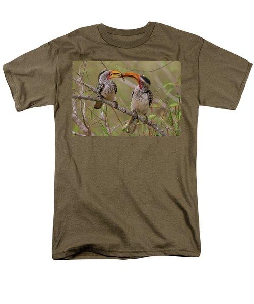 Hornbill Love Men's T-Shirt  (Regular Fit) by Bruce J Robinson
