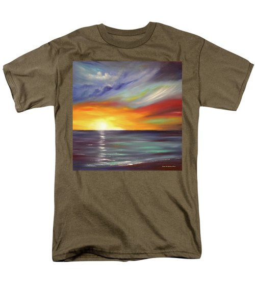 In the Moment Square Sunset T-Shirt by Gina De Gorna