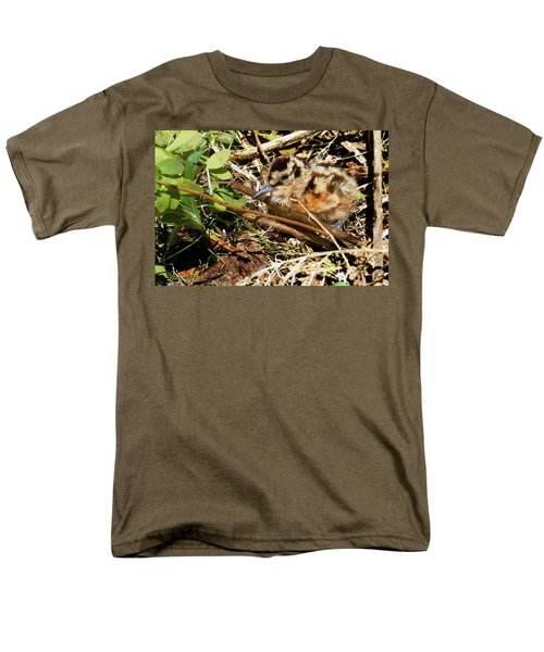 It's A Baby Woodcock Men's T-Shirt  (Regular Fit) by Asbed Iskedjian