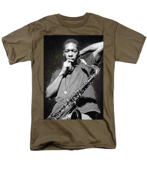John Coltrane Men's T-Shirt  (Regular Fit) by Semih Yurdabak