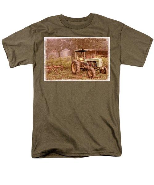 John Deere Antique T-Shirt by Debra and Dave Vanderlaan