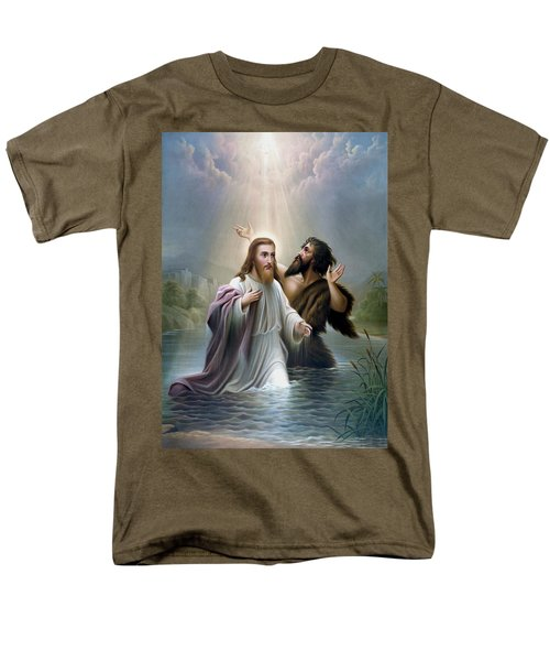 John the Baptist baptizes Jesus Christ T-Shirt by War Is Hell Store