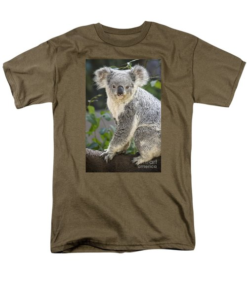Koala Female Portrait Men's T-Shirt  (Regular Fit) by Jamie Pham