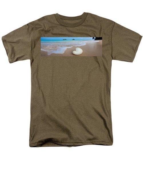 Lanikai Paper Nautilus T-Shirt by Sean Davey